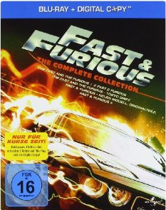 fastundfurious Fast & Furious 1 5 – The Collection [Blu ray] für 25 Euro
