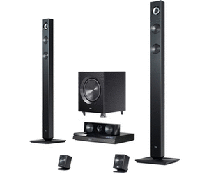 lg bh7420p [Schnäppchen] Amazon   LG BH7420P 3D Blu ray 5.1 Heimkinosystem (1100 Watt, WLAN, Smart TV, Dockingstation, DLNA, 2x HDMI IN) für 299€