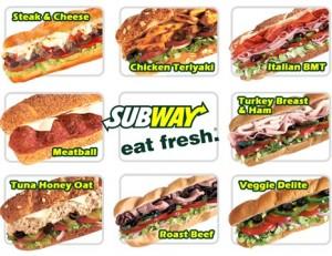 subway 300x231 [Gutschein] Subway Gutscheine 6. Februar   7. März