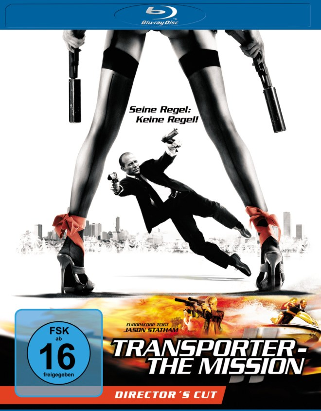 transporter the mission [Schnäppchen] Amazon   Transporter – The Mission [Blu ray] für 6,93€