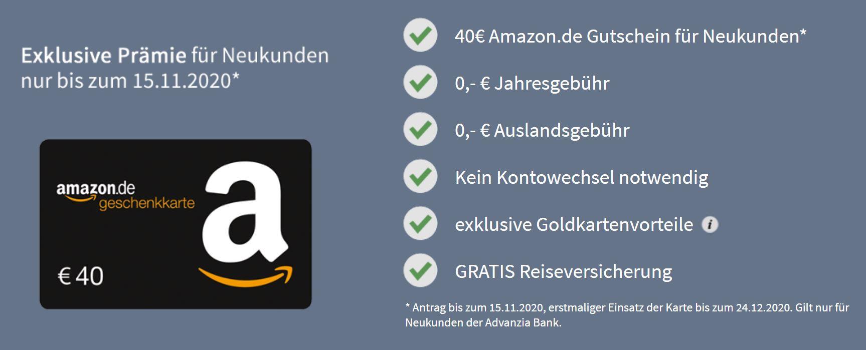 Kreditkarte Amazon Ausland