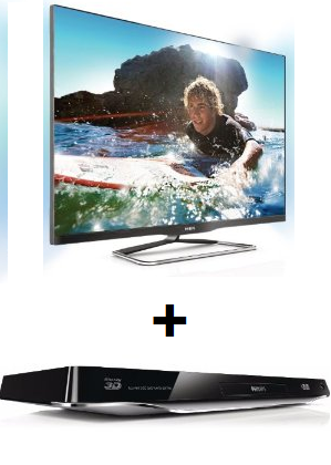schn ppchen amazon philips 42pfl6907k 42 zoll ambilight 3d led backlight fernseher 3d. Black Bedroom Furniture Sets. Home Design Ideas