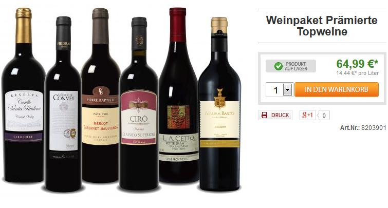 Weinvorteil Gutschein Groupon